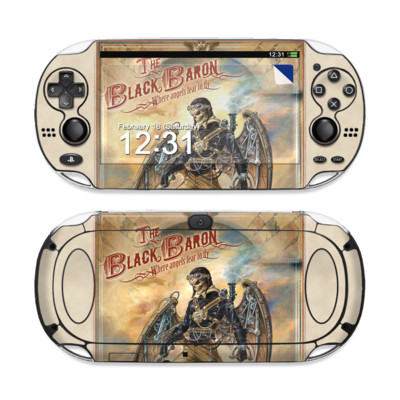Sony PS Vita Skin - The Black Baron
