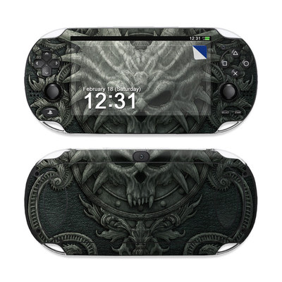 Sony PS Vita Skin - Black Book