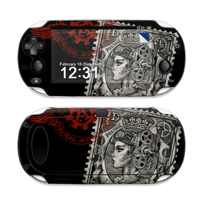 Sony PS Vita Skin - Black Penny