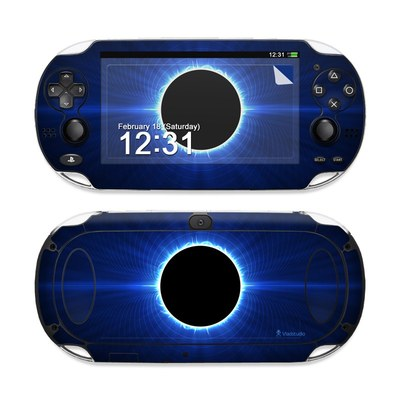 Sony PS Vita Skin - Blue Star Eclipse