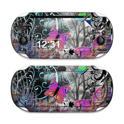 Sony PS Vita Skin - Butterfly Wall