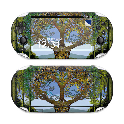 Sony PS Vita Skin - Celtic Tree