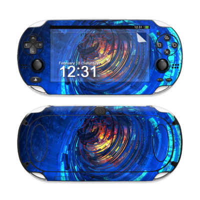 Sony PS Vita Skin - Clockwork