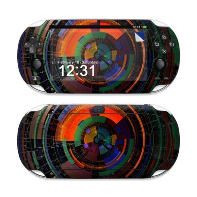 Sony PS Vita Skin - Color Wheel