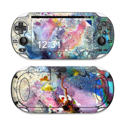 Sony PS Vita Skin - Cosmic Flower
