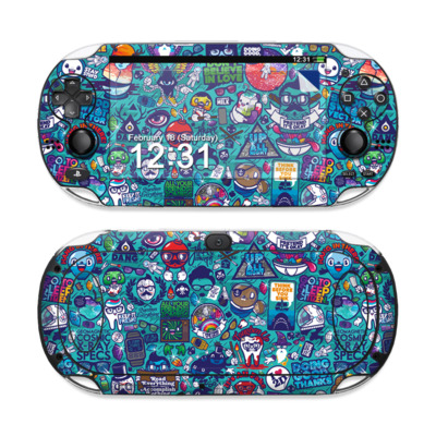 Sony PS Vita Skin - Cosmic Ray