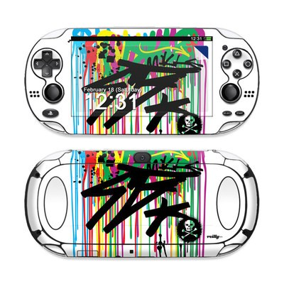 Sony PS Vita Skin - Colour Rain