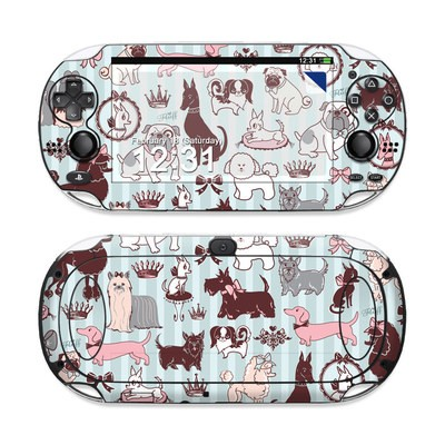 Sony PS Vita Skin - Doggy Boudoir