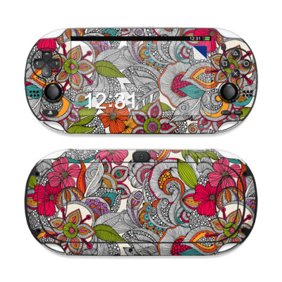 Sony PS Vita Skin - Doodles Color