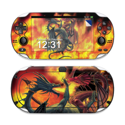 Sony PS Vita Skin - Dragon Wars