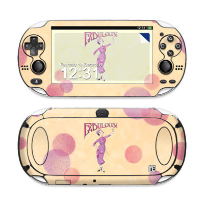 Sony PS Vita Skin - Fabulous