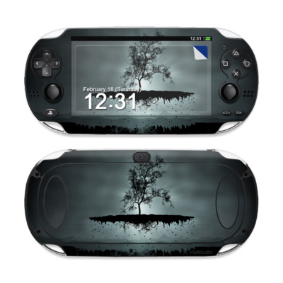 Sony PS Vita Skin - Flying Tree Black
