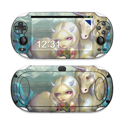 Sony PS Vita Skin - Fiona Unicorn