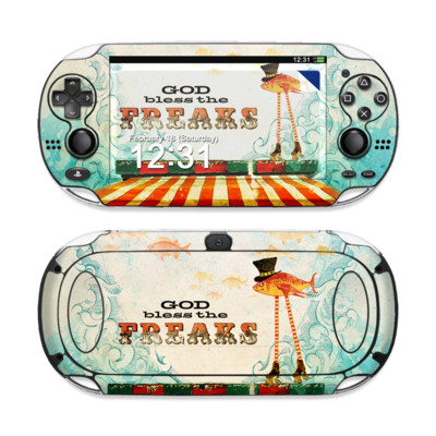 Sony PS Vita Skin - God Bless The Freaks