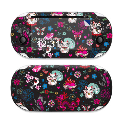 Sony PS Vita Skin - Geisha Kitty