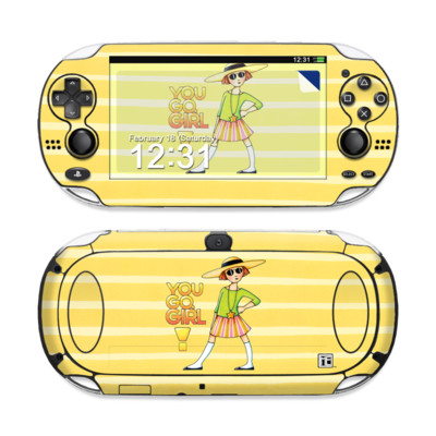 Sony PS Vita Skin - You Go Girl