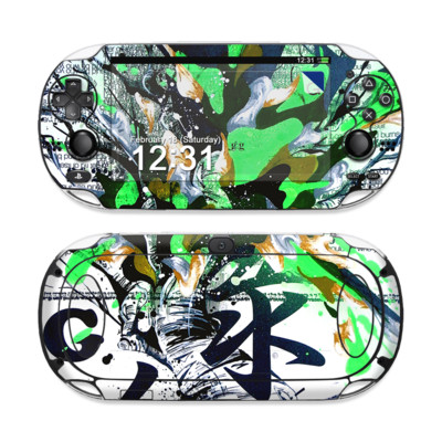 Sony PS Vita Skin - Green 1