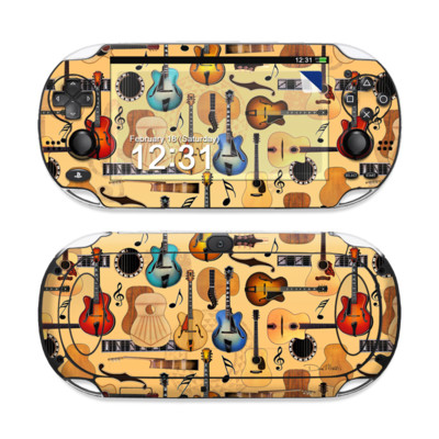 Sony PS Vita Skin - Guitar Collage
