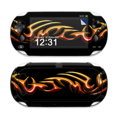 Sony PS Vita Skin - Hot Tribal