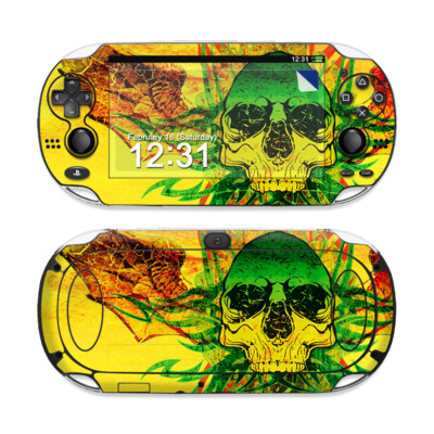 Sony PS Vita Skin - Hot Tribal Skull