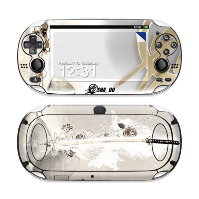 Sony PS Vita Skin - Katana Gold