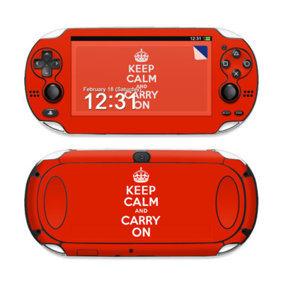 Sony PS Vita Skin - Keep Calm