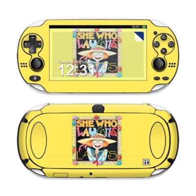 Sony PS Vita Skin - She Who Laughs