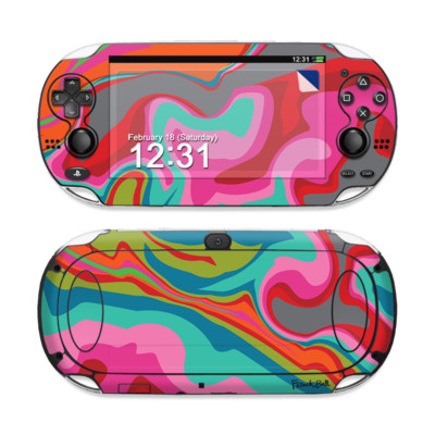 Sony PS Vita Skin - Marble Bright