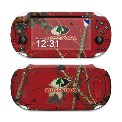Sony PS Vita Skin - Break-Up Lifestyles Red Oak