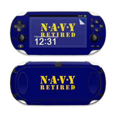 Sony PS Vita Skin - Navy Retired