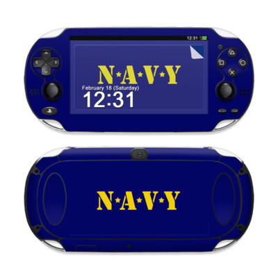 Sony PS Vita Skin - Navy