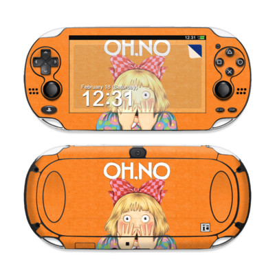 Sony PS Vita Skin - Oh No