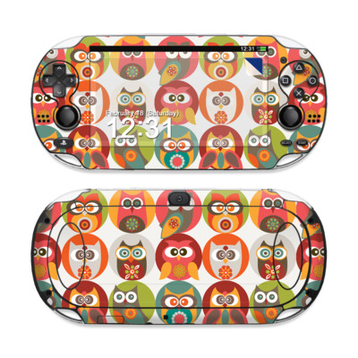 Sony PS Vita Skin - Owls Family