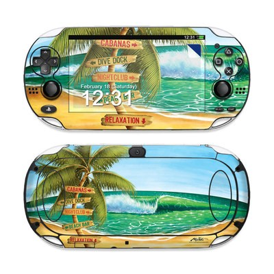 Sony PS Vita Skin - Palm Signs