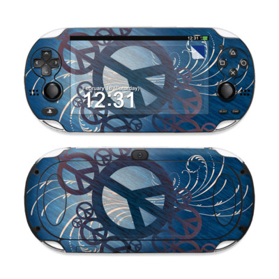 Sony PS Vita Skin - Peace Out