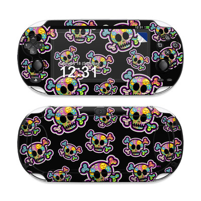 Sony PS Vita Skin - Peace Skulls