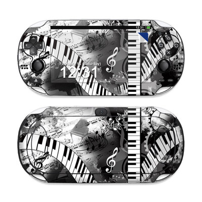 Sony PS Vita Skin - Piano Pizazz