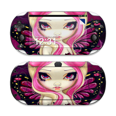 Sony PS Vita Skin - Pink Lightning