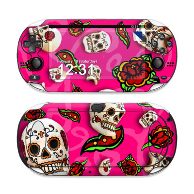 Sony PS Vita Skin - Pink Scatter