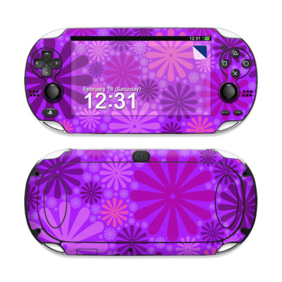 Sony PS Vita Skin - Purple Punch