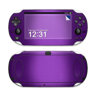Sony PS Vita Skin - Purple Burst