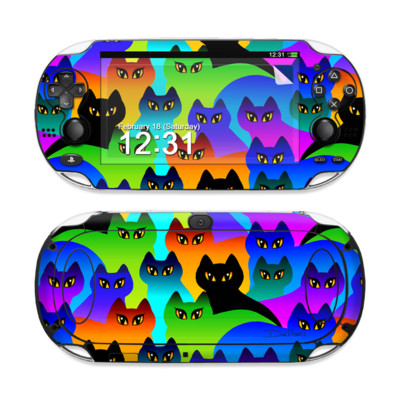 Sony PS Vita Skin - Rainbow Cats
