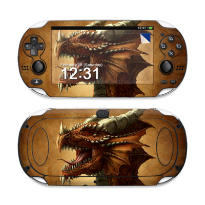 Sony PS Vita Skin - Red Dragon
