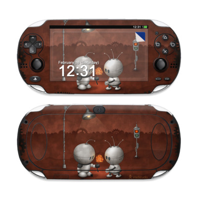 Sony PS Vita Skin - Robots In Love