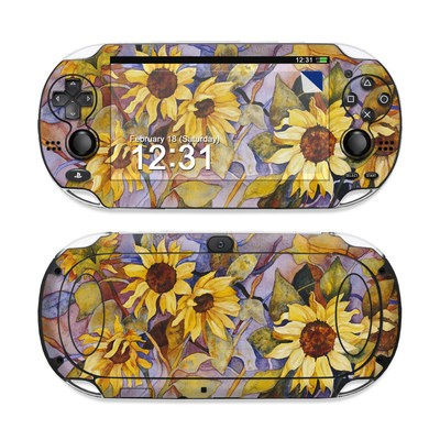 Sony PS Vita Skin - Sunflower