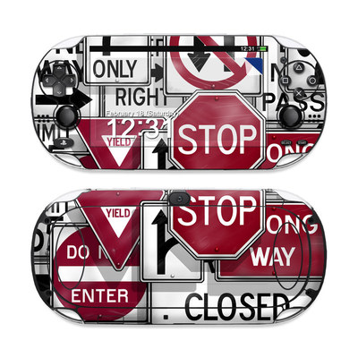 Sony PS Vita Skin - Signs