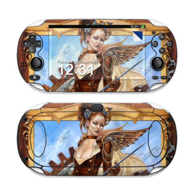 Sony PS Vita Skin - Steam Jenny