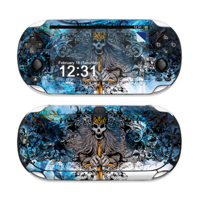 Sony PS Vita Skin - Skeleton King