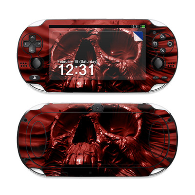 Sony PS Vita Skin - Skull Blood