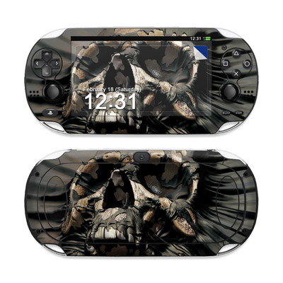 Sony PS Vita Skin - Skull Wrap